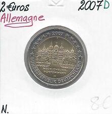 2 Euros - ALLEMAGNE - 2007 - Lettre: D // Pièce Neuve
