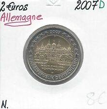2 Euro - GERMANIA - 2007 - Lettera: Sala D Nuova