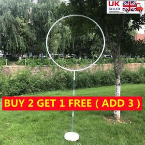 1set Arch Frame Balloon Stand Column Stands Garland Holder Wedding Baby Shower