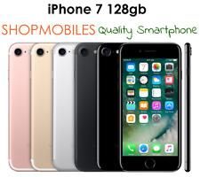 IPHONE7 128GB NERO OPACO MATT JET BLACK GOLD ROSA SILVER BUONE CONDIZIONI