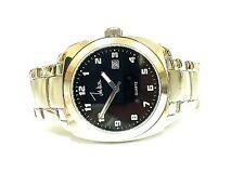 John Weitz Stainless Steel Black Dial Casual Unisex Watch