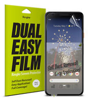 For Google Pixel 3a XL Screen Protector Ringke [Dual Easy Film] Full Cover 2pc