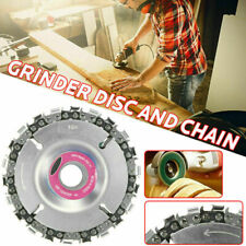 Angle Grinder Discs Circular Cutting Wood Carving 16/22MM Angle Disc Chain Wheel