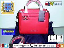 Borsa Donna Trussardi Jeans bauletto Tremblant Rosso Grenadine mano tracolla new