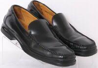 Cole Haan C01074 Santa Barbara Black Leather Pinch Loafer Shoes Men's US 11M