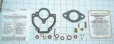 ZENITH CARB KIT MARVEL SHEPLER CHRYSLER CLARK CONTINENTAL DEERE IHC MORE 708-602