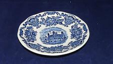 Wedgwood Enoch England Royal Homes of Britain blau Untertasse 14,5 cm (z Kaffee)