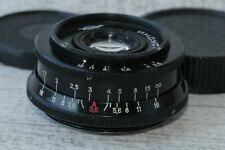INDUSTAR 50-2 Black 3.5/50 mm Vintage USSR Russian lens M42