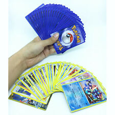 25PCS/Pack Pokemon TCG Cards COM/UNC, HOLO & GUARANTEED EX OR FULL Cartoon Games