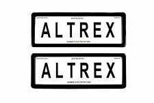 Altrex Number Plate Cover 6 Figure Black Without Lines