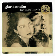 "Gloria ESTEFAN Vinyl 45T 7"" SP DON'T WANNA LOSE YOU N°1 USA - EPIC 655054"
