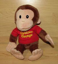 "10"" Curious George Monkey Universal Studios Gund Plush 4029019"