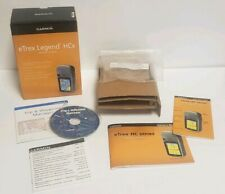 Garmin Etrex Legend HCx Box + Inserts  Instruction Manual Waypoint Manager CD