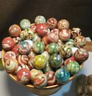 JABO VINTAGE GLASS MARBLES 53 Mamie's Sistersville MARBLES 04/11/2010 3 DAY NR!