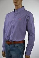Ralph Lauren Purple Check Cotton Long Sleeve Shirt -NWT