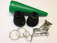 Universal Streach Cv Boot Kit Drive Shaft + Instructions + Cone X 2 For Suzuki