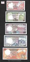SRI LANKA 1985-1989 BANKNOTE SET 10,20,50,100 RUPEES (P92,P93,P94,P95) UNC-EF