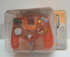 NEW Orange Naki Advanced Sega Dreamcast Controller Pad W/ Slow Motion & Turbo