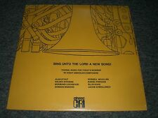 Sing Unto The Lord a New Song!~Alan Stout~Halsey Stevens~Choral~CRI 191~SEALED