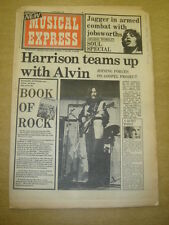NME 1973 SEP 15 GEORGE HARRISON MICK JAGGER ERIC CLAPTON MOODY BLUES
