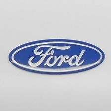 Ford Aluminium Oval Self Adhesive Label