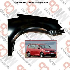 VW TOURAN 2003-2006 FRONT WING PANEL RIGHT DRIVER SIDE 1T0821022; 1T0821022A