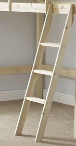 Pine Bunkbed Ladder - Bunk Bed Slanted Ladder Solid Pine (EB79)