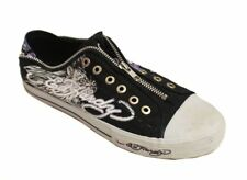Ed Hardy Men's 10FBX101M Black / Purple Sneaker US 13 NOB NWD