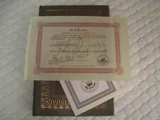 Easton Press - IRONWEED - William KENNEDY - SIGNED 2x & COA, Leather Gild