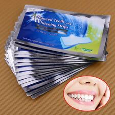 14 Streifen Zähne Bleaching White Strips Mint Geschmack Zahnweiß Zahnaufhellung