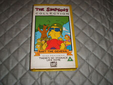 V.H.S. VIDEO TAPE ..THE SIMPSON....BART THE GENERAL.................FREE POSTAGE