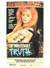The Unbelievable Truth VHS Movie Promo Screener Copy