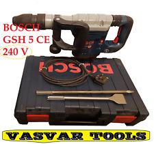 hammer breaker GSH 5-E/0 611 318 741/demolition HAMMER 240V