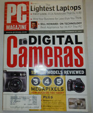 Pc Magazine Digital Camers The Lightest Laptops November 2001 032015R