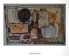 Jacques Doucet composition poster Art Imprimé Image 56x71cm