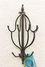 dandibo VESTIAIRE MURAL 50 cm mit 10 CROCHET 140722 Mur Patères PORTE-MANTEAUX