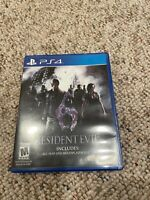 Resident Evil 6 (Sony PlayStation 4, 2016) PS4 Fast Shipping