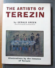 The Artists of Terezin by Gerald Green 1st edition 1969