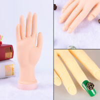 Practice Right Hand Model for Nail Art Training and Display Manicure Supplies DD