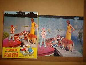 Vintage Jigsaw Puzzle Tuco Big Catch 100 On Riviera 275 Lot HH