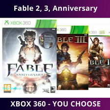 Fable 1, 2, 3, Anniversary XBOX 360 | Assorted | Choose Game | Excellent & Fast