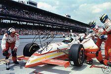 "Indy Car Driver Kenny Brack Hand Signed Photo 12x8"" AJ"