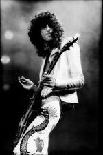 LED ZEPPELIN JIMMY PAGE GIBSON LES PAUL GUITAR CONCERT ZOSO PHOTO POSTER PRINT
