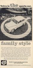 1960 Volvo PV 544 Two-Door Sedan PRINT AD