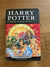 Harry Potter and the Deathly Hallows 1st Edition 1st Printing Bloomsbury #349