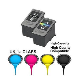 REMANUFATURED Canon Twinpack PG-40 AND CL-41 INK CARTRIDGES FOR CANON PRINTER