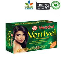 VENDOL VENIVEL SOAP Herbal Ayurvedic Soap 80g - Sandalwood Turmeric Aloe Vera