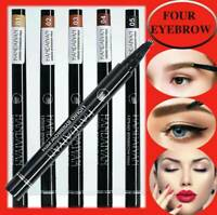 Microblading Tattoo Eyebrow Liquid Ink Pen Waterproof 4Fork Pencil Brow Definer@