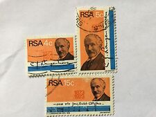 1973 South Africa Nice Stamps Set . SC 395-397