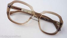 WK vintagebrille 70er ORGINAL Braun-cronologia acetato Occhiali versione 52-20 SIZE M